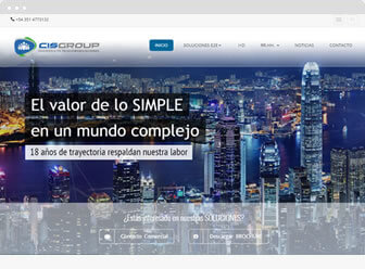 CIS GROUP - Web Site © 2015