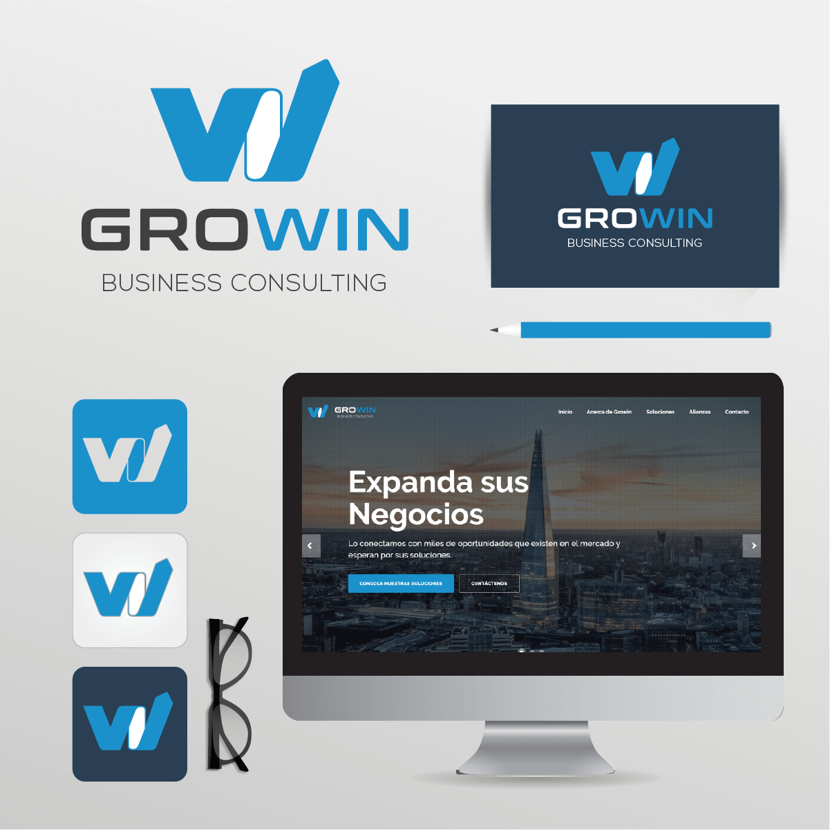 GROWIN | Identidad Visual & Sitio Web