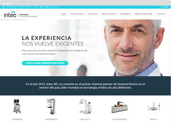 Diseño web wordpress Intec